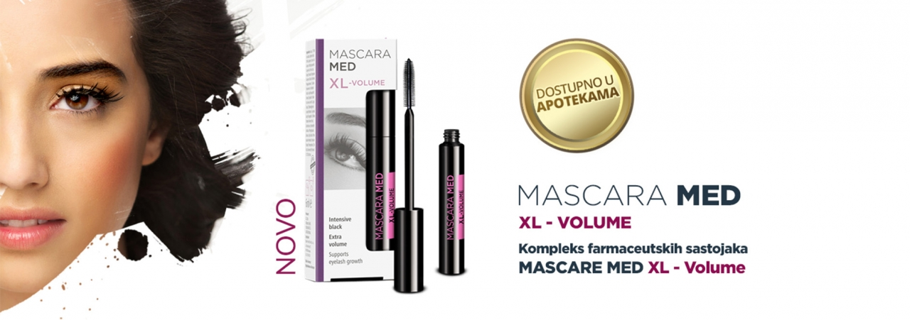 Mascara Med Xl volume