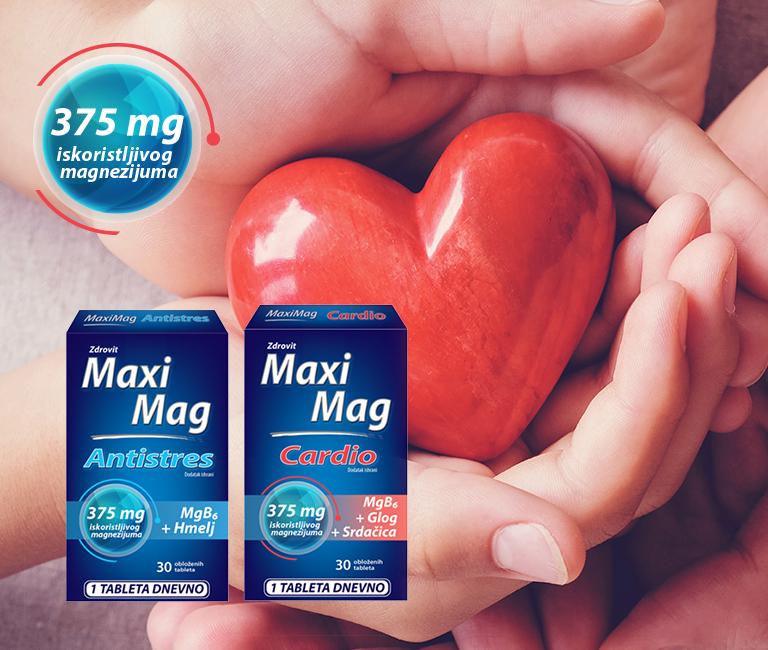 Maxi Mag Antistres i Maxi Mag Cardio