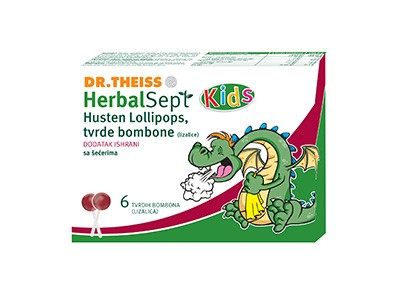 Herbal Sept Lizalice protiv kašlja